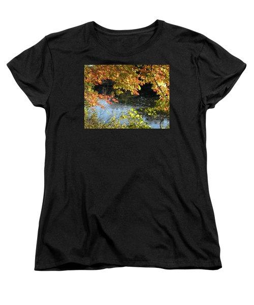 The Colors Of Fall Women's T-Shirt (Standard Cut) by Tara Lynn
