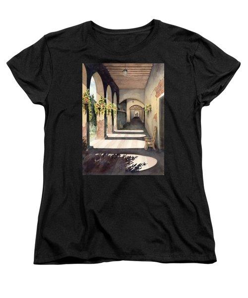 The Corridor 2 Women's T-Shirt (Standard Cut) by Sam Sidders