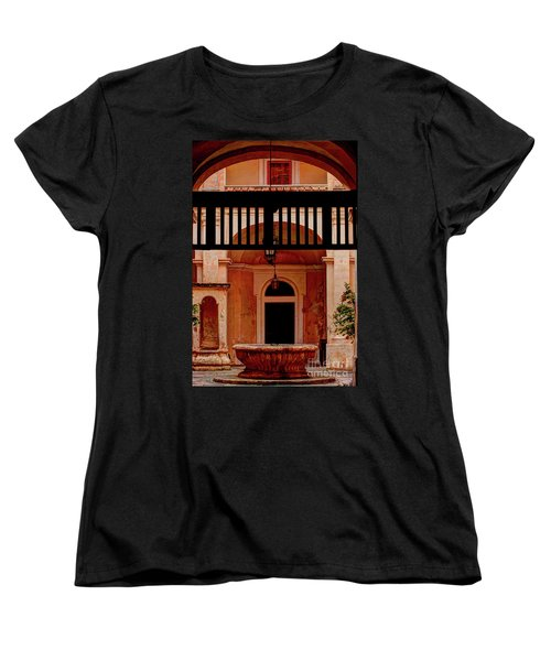 The Court Yard Malta Women's T-Shirt (Standard Cut)