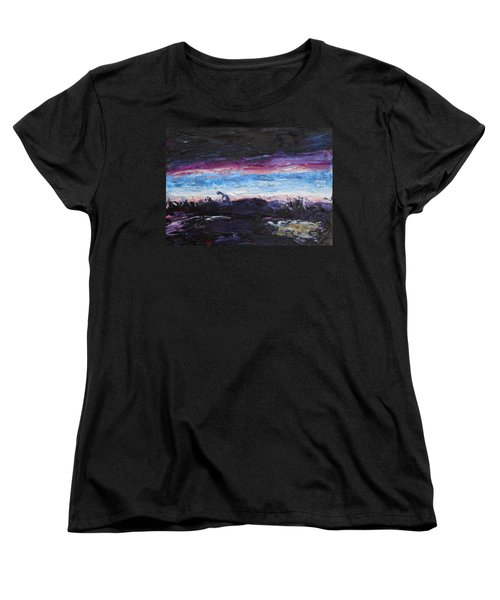 The Crack Of Time Women's T-Shirt (Standard Fit)