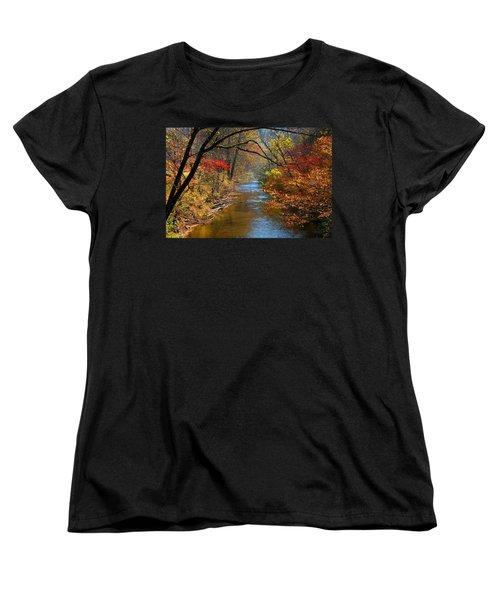 The Dan River Women's T-Shirt (Standard Cut)