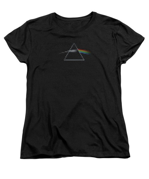 The Dark Side Of The Ugly Christmas Sweater Cool Dark Side Of The Moon Music Parody Women's T-Shirt (Standard Fit)