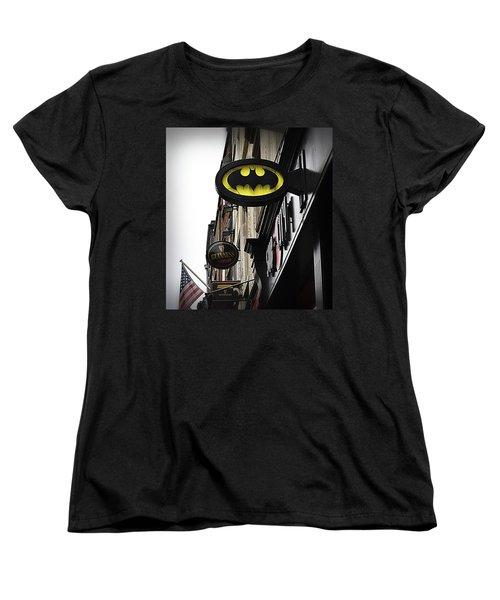 The Drink Of Super Heroes Women's T-Shirt (Standard Cut) by Nadalyn Larsen