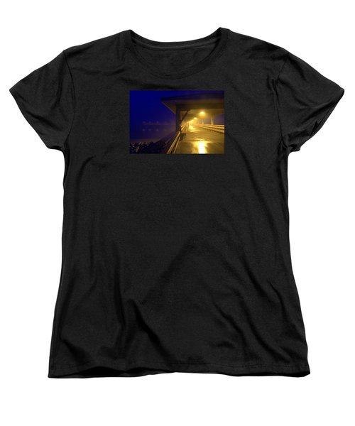 The Early Bird Women's T-Shirt (Standard Cut) by Laura Ragland