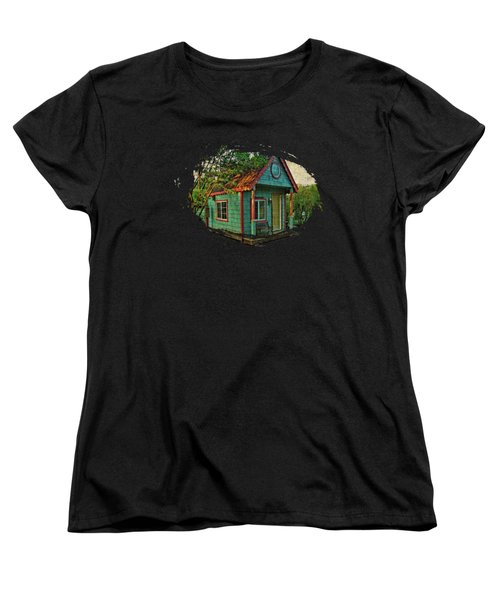 The Enchanted Garden Shed Women's T-Shirt (Standard Cut) by Thom Zehrfeld