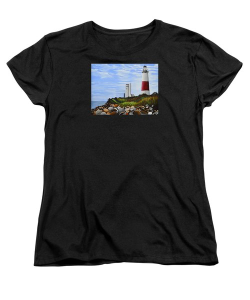 The End Women's T-Shirt (Standard Cut) by Donna Blossom