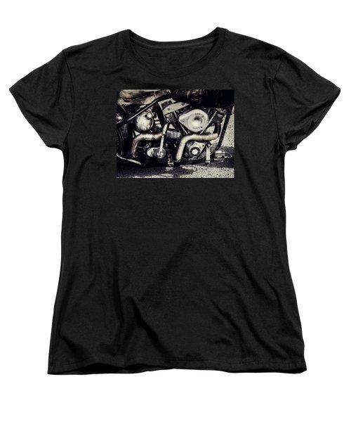 Women's T-Shirt (Standard Cut) featuring the photograph The Engine by Ari Salmela