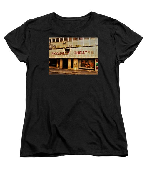 The Famous Beirut Picadilly Theater  Women's T-Shirt (Standard Cut) by Funkpix Photo Hunter