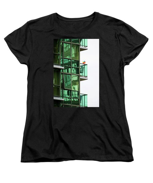 Women's T-Shirt (Standard Cut) featuring the photograph The Windmill by Chris Dutton