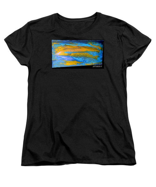 the GATOR in abstracr Women's T-Shirt (Standard Cut)