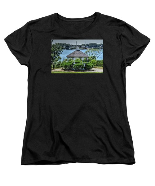 Women's T-Shirt (Standard Cut) featuring the photograph The Gazebo by Tom Prendergast