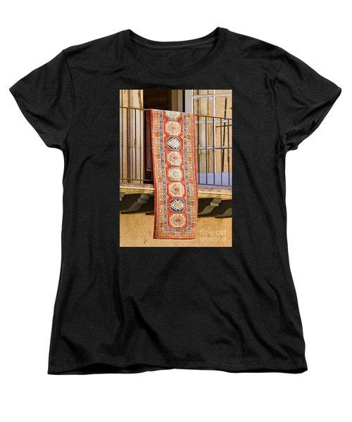 Women's T-Shirt (Standard Cut) featuring the photograph The Hanging Carpet Of Sedona by Chris Dutton