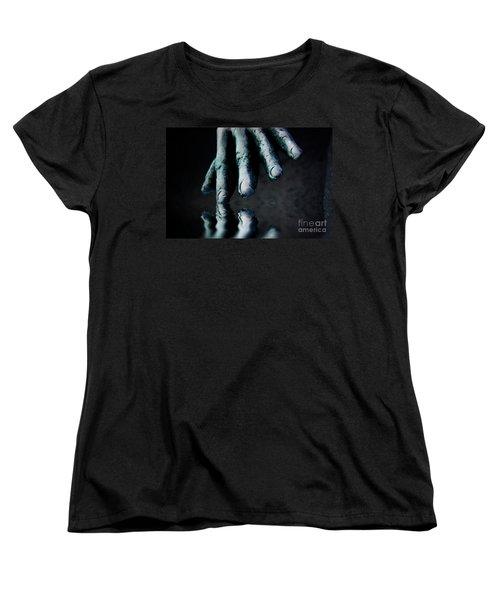 The Healing Touch Women's T-Shirt (Standard Cut) by Kym Clarke