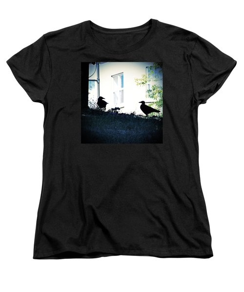 The Hitchcock Moment Women's T-Shirt (Standard Cut) by Serge Averbukh