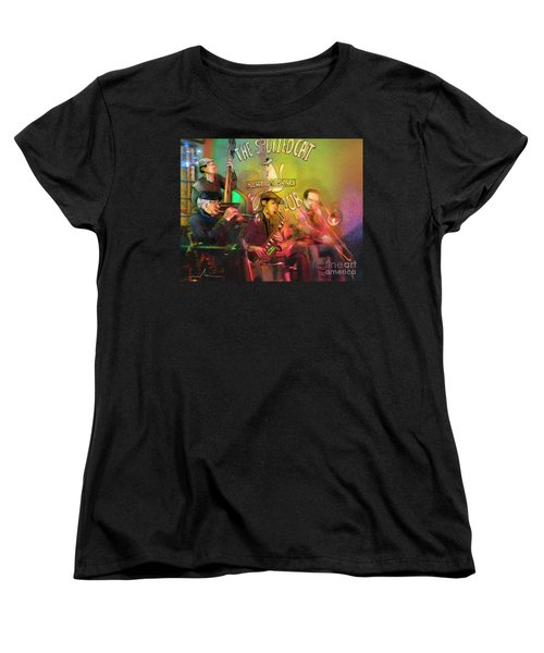 The Jazz Vipers In New Orleans 02 Women's T-Shirt (Standard Cut) by Miki De Goodaboom