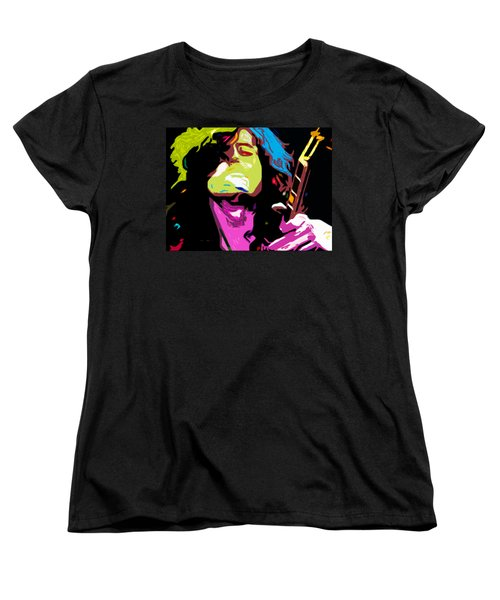 The Jimmy Page By Nixo Women's T-Shirt (Standard Cut) by Nicholas Nixo