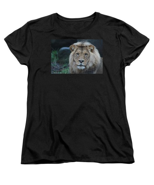 Women's T-Shirt (Standard Cut) featuring the photograph The King by Laddie Halupa