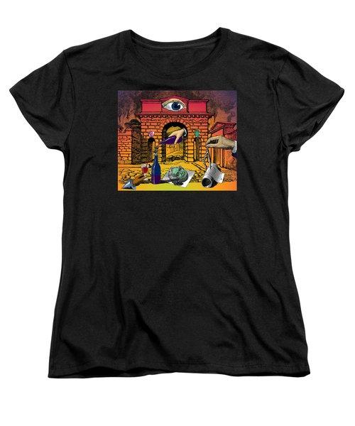The Last Days Of Herculaneum Women's T-Shirt (Standard Cut)