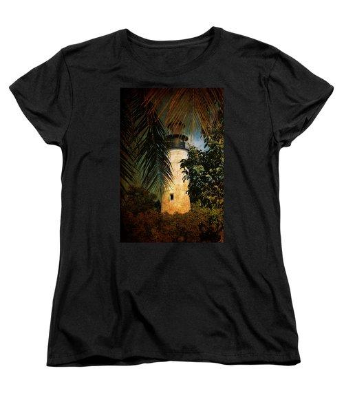 The Lighthouse In Key West Women's T-Shirt (Standard Cut)