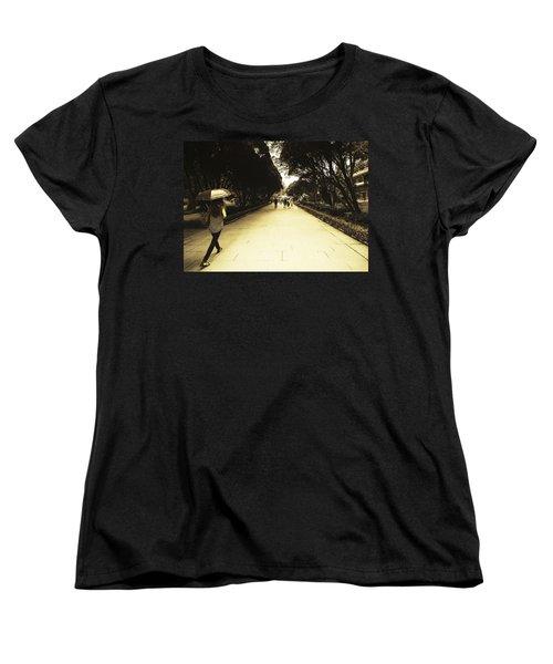 The Long Walk Women's T-Shirt (Standard Cut) by Patrick Kain