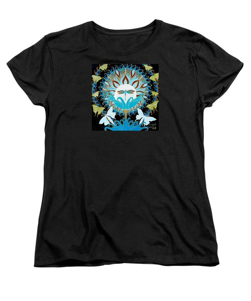 The Luna Moth Journey Of Faith And Love Women's T-Shirt (Standard Cut)