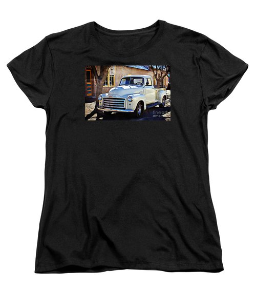 The Magic Of The 1949 Gmc 100 Women's T-Shirt (Standard Cut) by Barbara Chichester