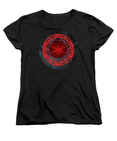 The Magick Circle Women's T-Shirt (Standard Fit)
