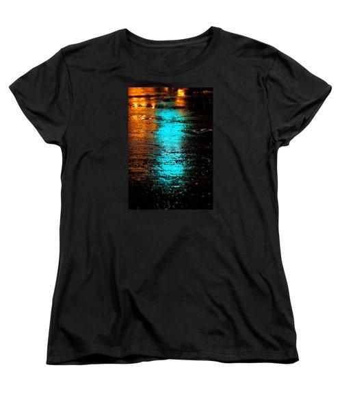 Women's T-Shirt (Standard Cut) featuring the photograph The Memory Lane II by Prakash Ghai