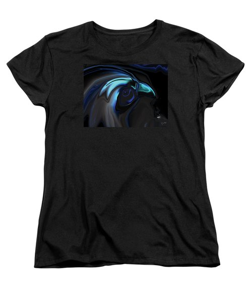The Nighthawk Women's T-Shirt (Standard Cut) by Rabi Khan