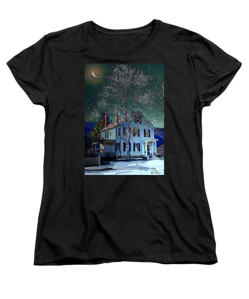 The Noble House Women's T-Shirt (Standard Cut) by Nancy Griswold