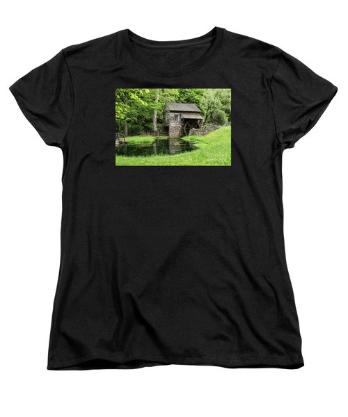 The Old Mill Women's T-Shirt (Standard Cut) by Nicki McManus