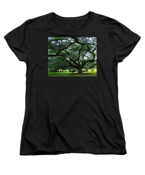 The Old Oak Women's T-Shirt (Standard Cut) by Perry Webster