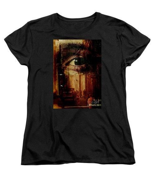 The Overseer Women's T-Shirt (Standard Cut) by Michael Cinnamond