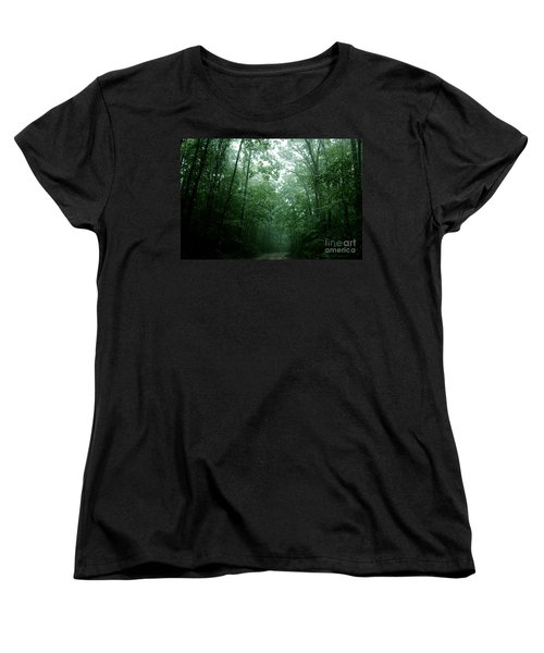 The Path Ahead Women's T-Shirt (Standard Cut) by Clayton Bruster