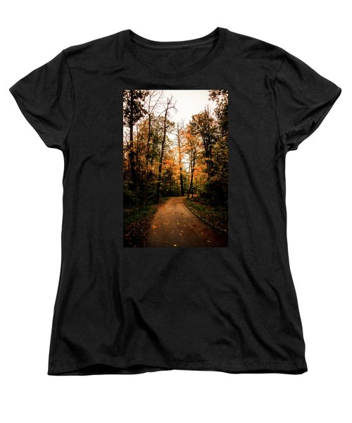 The Path Women's T-Shirt (Standard Cut) by Annette Berglund