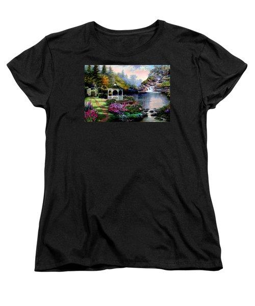 The Path Least Followed Women's T-Shirt (Standard Cut) by Ron Chambers