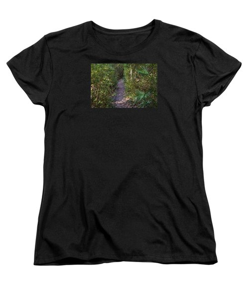 The Path Of Life Women's T-Shirt (Standard Cut) by Kenneth Albin