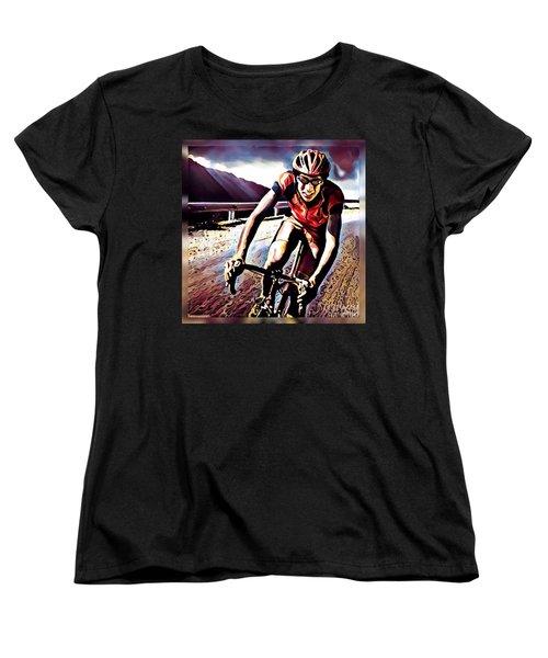 The Race Women's T-Shirt (Standard Cut) by Maria Watt