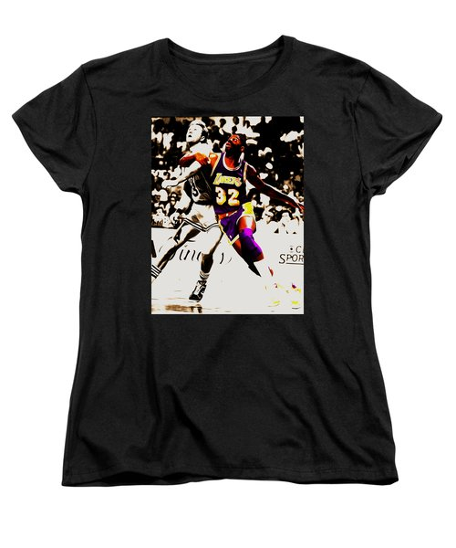 The Rebound Women's T-Shirt (Standard Cut) by Brian Reaves