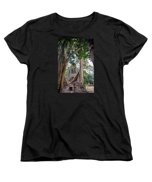 Women's T-Shirt (Standard Cut) featuring the photograph The S Gate by Arik S Mintorogo