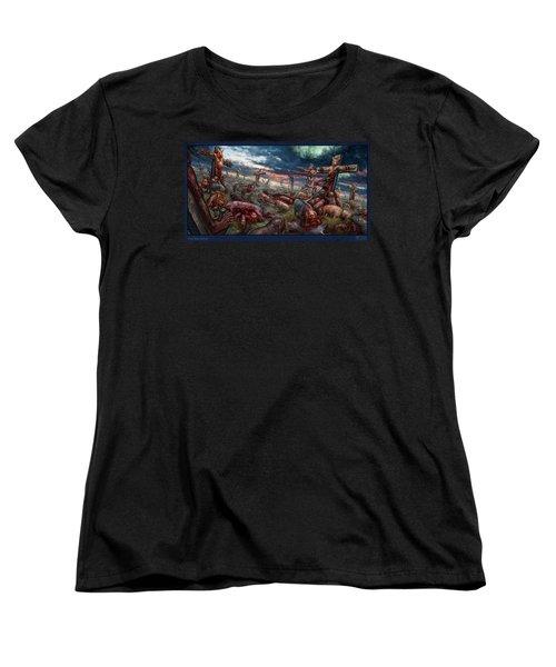 The Sacrifice Women's T-Shirt (Standard Cut) by Tony Koehl