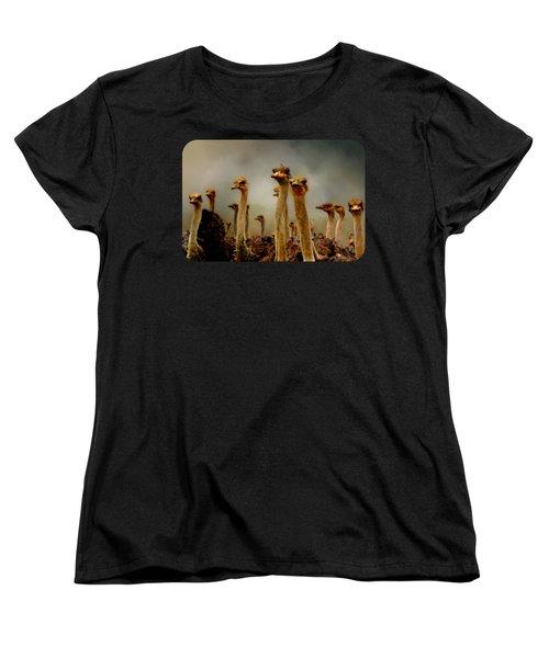 The Savannah Gang Women's T-Shirt (Standard Cut) by Linda Koelbel