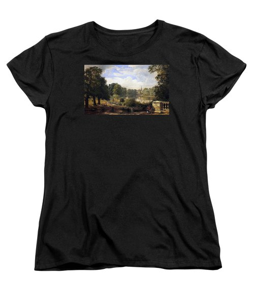 The Serpentine Women's T-Shirt (Standard Cut) by Jasper Francis Cropsey