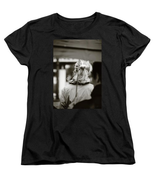 Women's T-Shirt (Standard Cut) featuring the photograph The Smell Of Your Hair by Empty Wall