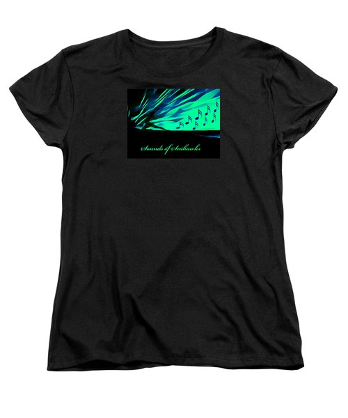 Women's T-Shirt (Standard Cut) featuring the photograph The Sounds Of Seattle Seahawks by Eddie Eastwood