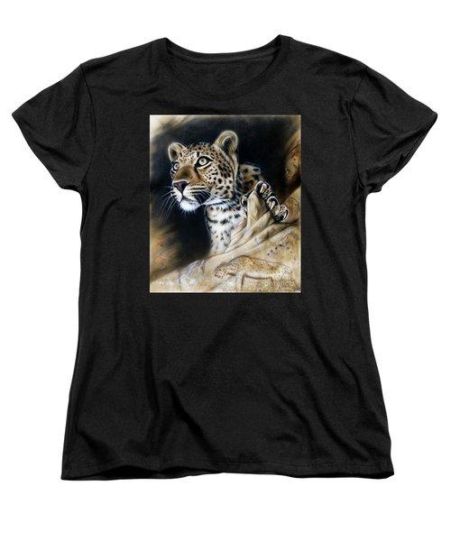 The Source IIi Women's T-Shirt (Standard Cut) by Sandi Baker