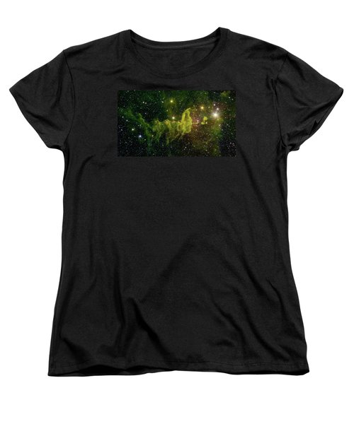 Women's T-Shirt (Standard Cut) featuring the photograph The Spider And The Fly Nebula by NASA JPL - Caltech