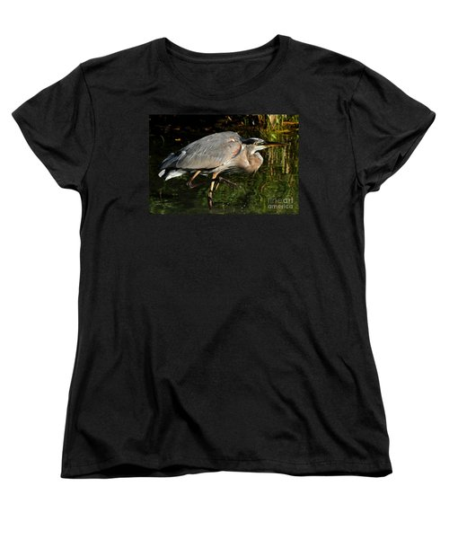 Women's T-Shirt (Standard Cut) featuring the photograph The Stalker by Heather King
