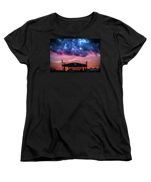 The Stone Pony Summer Stage Women's T-Shirt (Standard Cut) by Colleen Kammerer