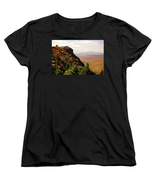 Women's T-Shirt (Standard Cut) featuring the photograph The Summit In Fall by Meta Gatschenberger